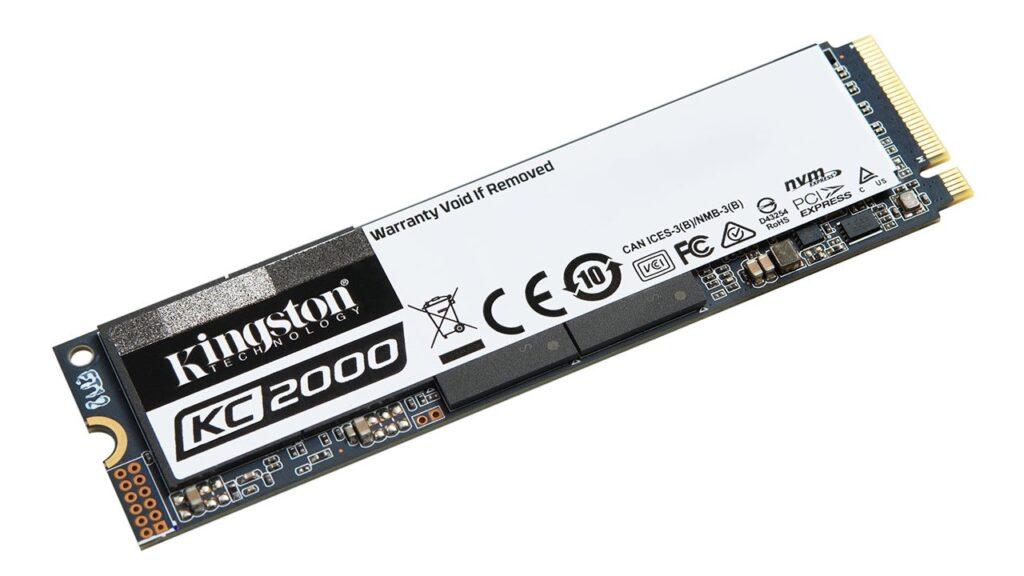 96-katmanlı Kingston KC2000 NVMe PCIe SSD duyuruldu